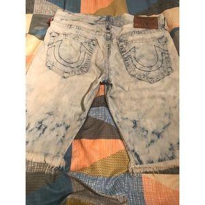 Men True Religion Geno Denim shorts